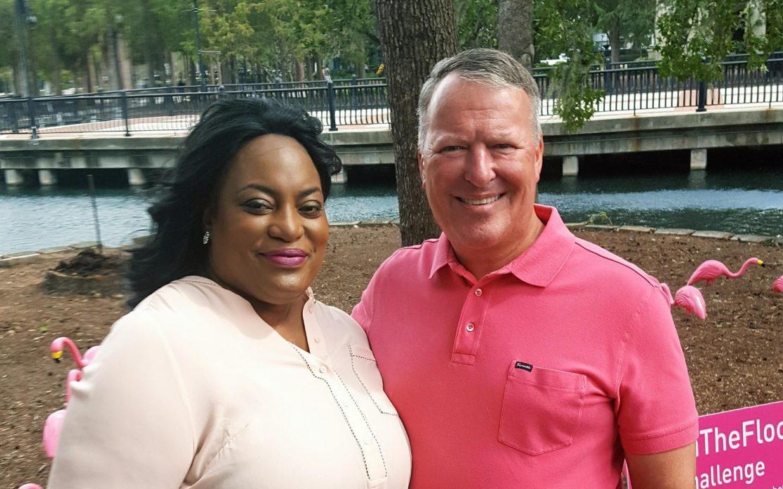 Tarralyn and Mayor Dyer
